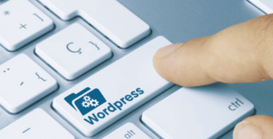 wordpress named key on a keyboard