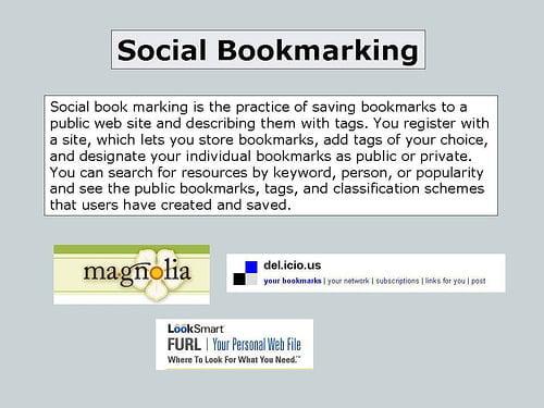 Social Boomarking