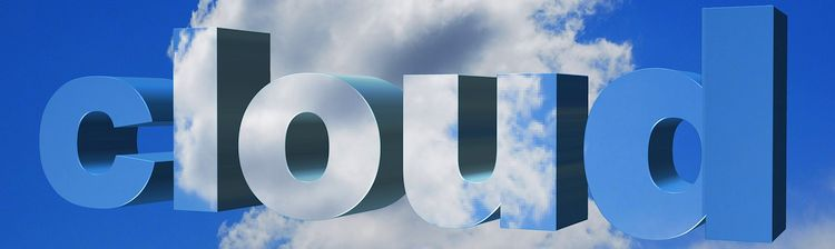 the word cloud on top of clouds
