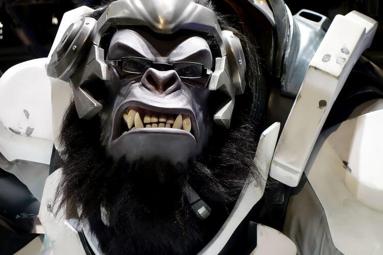 vicious gaming gorilla