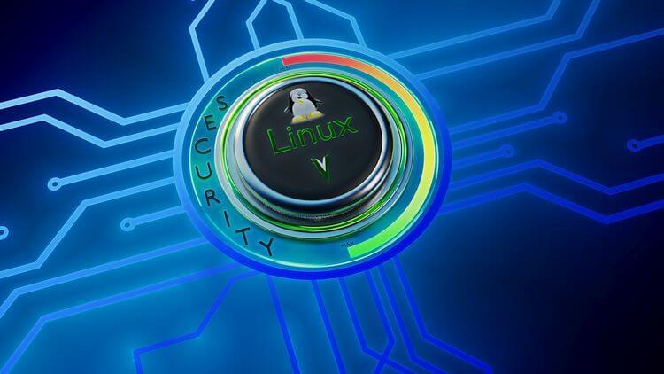 linux logo on cgi background