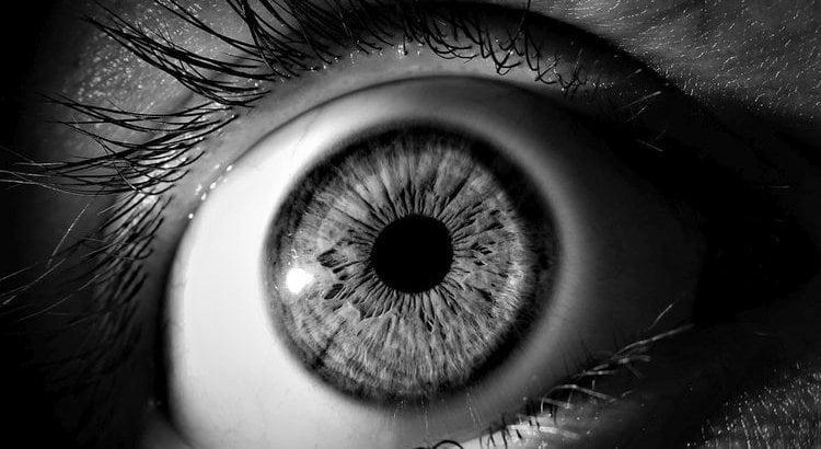 large open eye