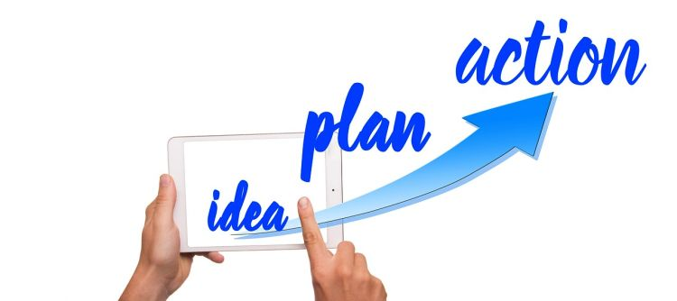 idea plan action diagram