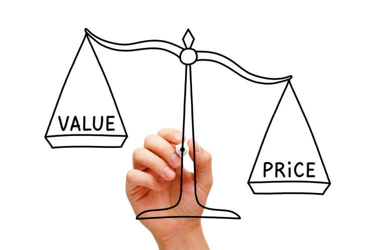 price versus value