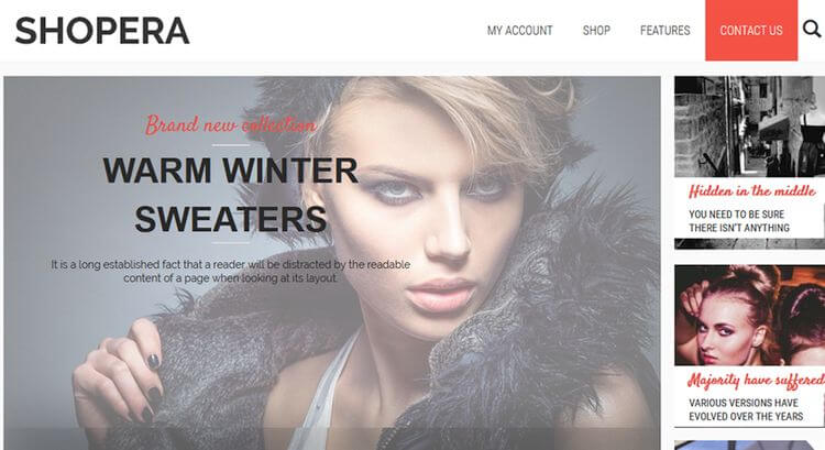 shopera wordpress ecommerce