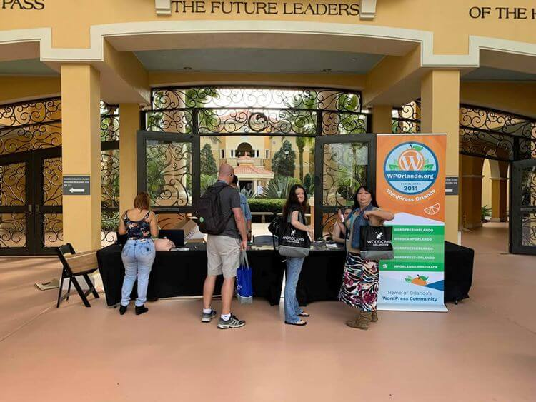 wordcamp orlando booth