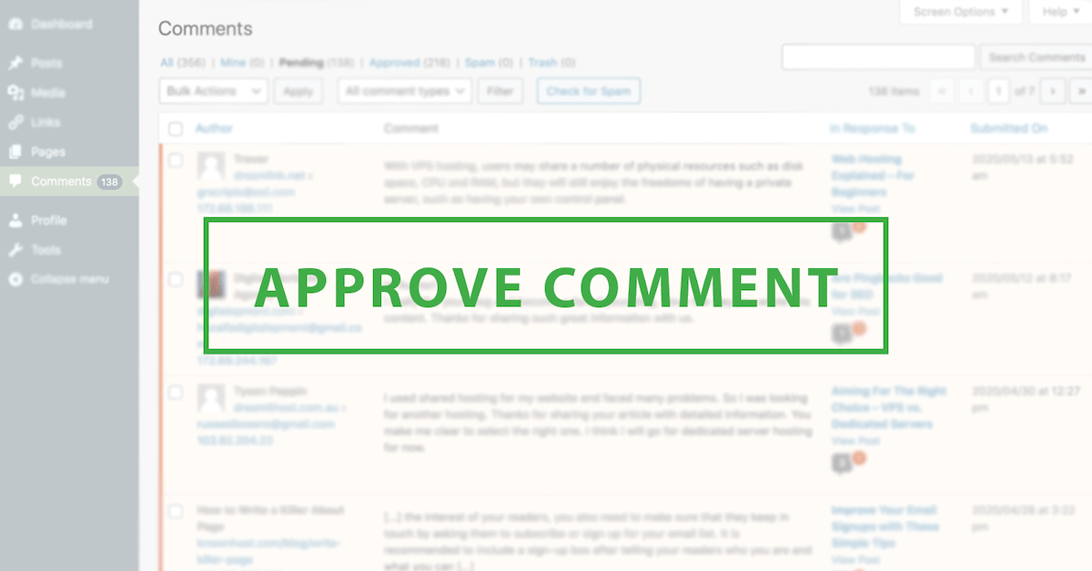 Are WordPress Comments Beneficial To Your Blog?