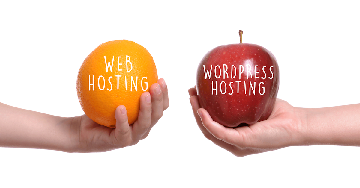 WordPress Hosting vs. Web Hosting