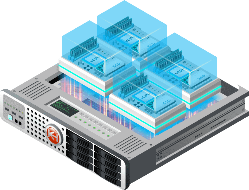 Illustration of a VPS
