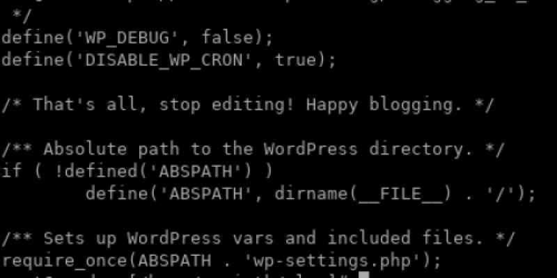 WordPress domain constants