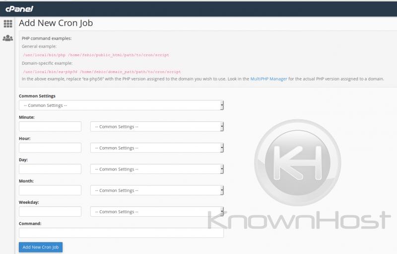 domain cron jobs