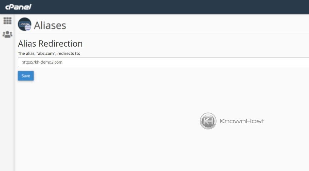 enter-domain-alias-redirection-url