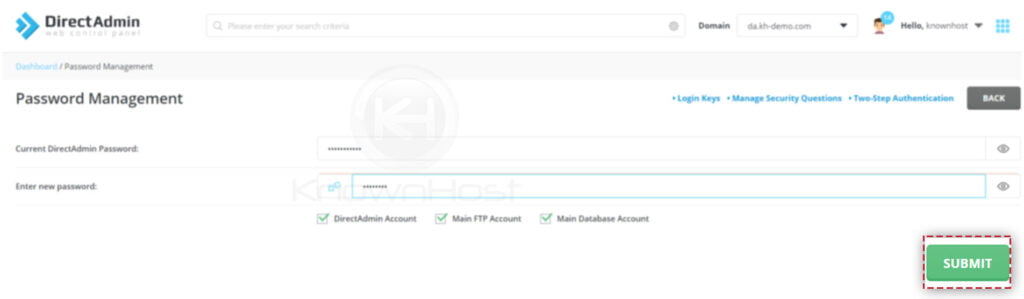 How-to-change-the-account-password-in-DirectAdmin