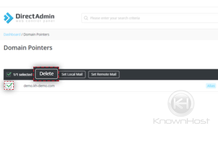 How-to-delete-Domain-Pointers-in-DirectAdmin