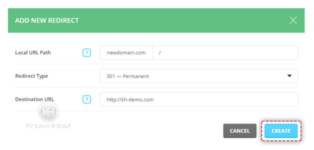 click-on-create-to-deploy-redirection