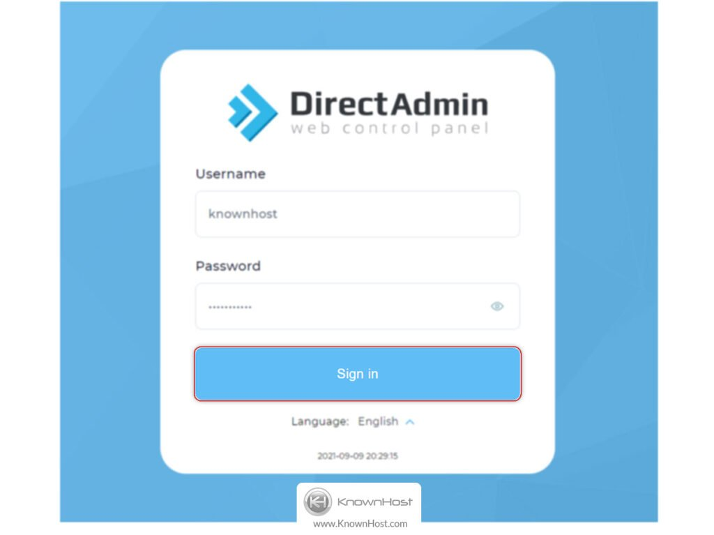 click-on-sing-in-direct-admin