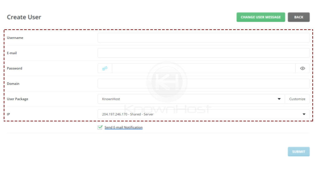 configure-the-new-user-account-details-directadmin
