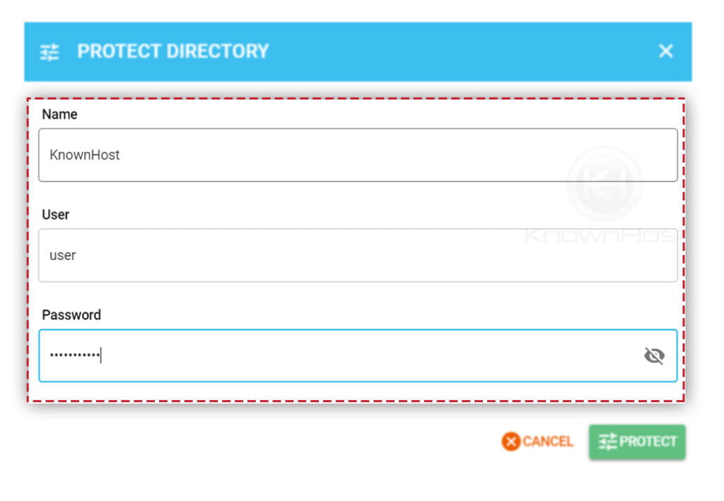 configure-the-user-name-password-for-directory-directadmin