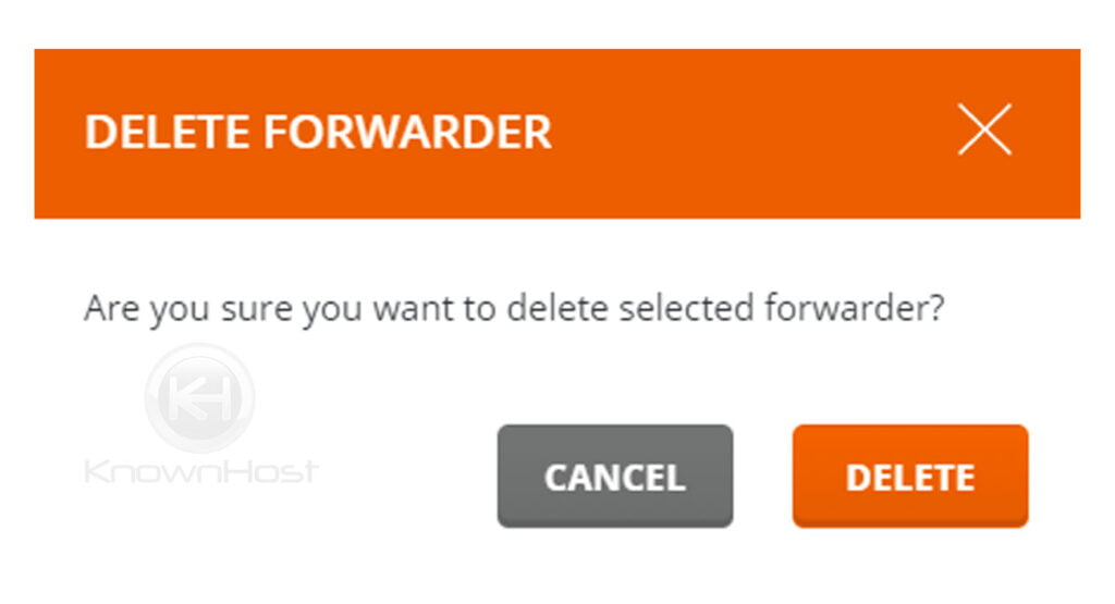 confirm-the-email-forwarders-directadmin