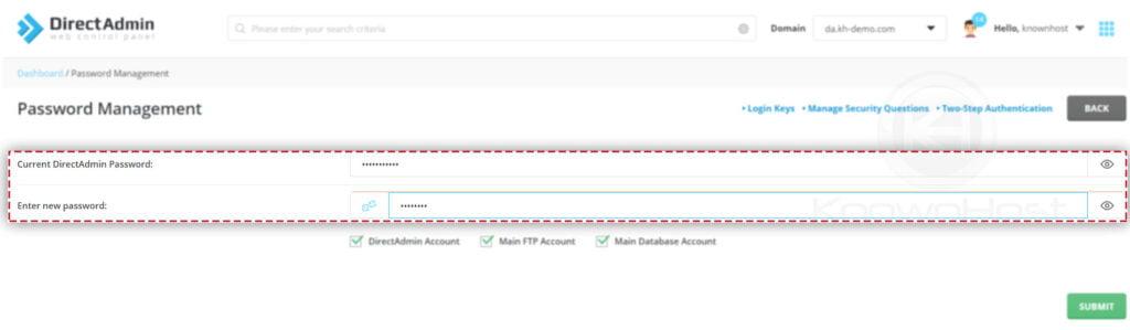 enter-new-password-directadmin