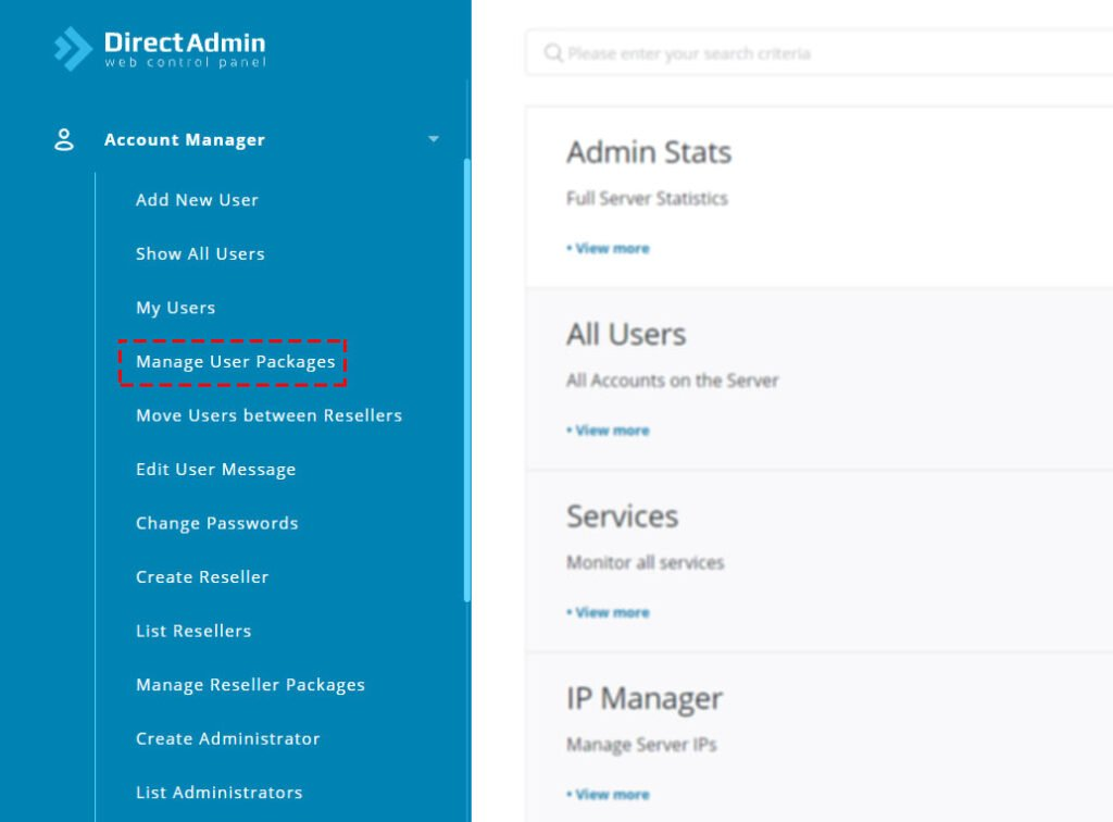 navigate-to-account-manager-user-packages