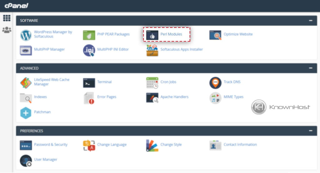 navigate-to-perl-packages-cpanel
