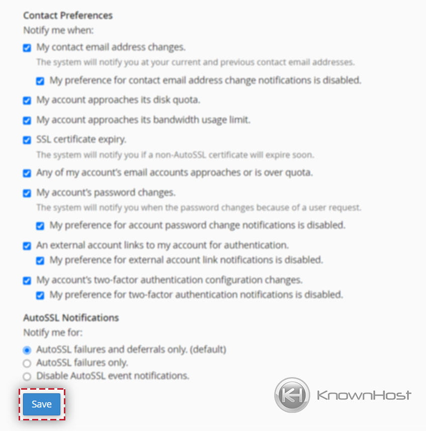 save-the-contact-information-changes-in-cpanel